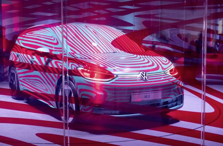"""От €30 000: начался приём предзаказов на электрокар Volkswagen ID.3"""""""