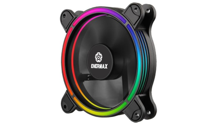 Enermax T B RGB AD : тихий вентилятор с оригинальной подсветкой