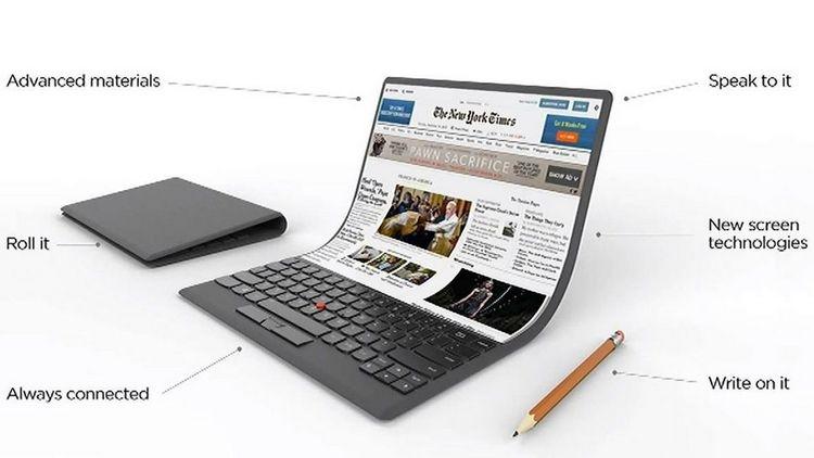 """Intel: ноутбуки с гибкими дисплеями появятся не раньше, чем через 2 года"""""""