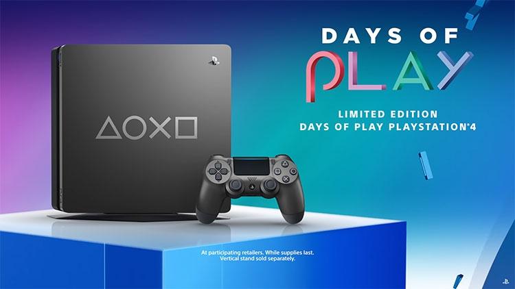 Видео: Sony представила новое ограниченное издание Days of Play консоли PS4 Slim