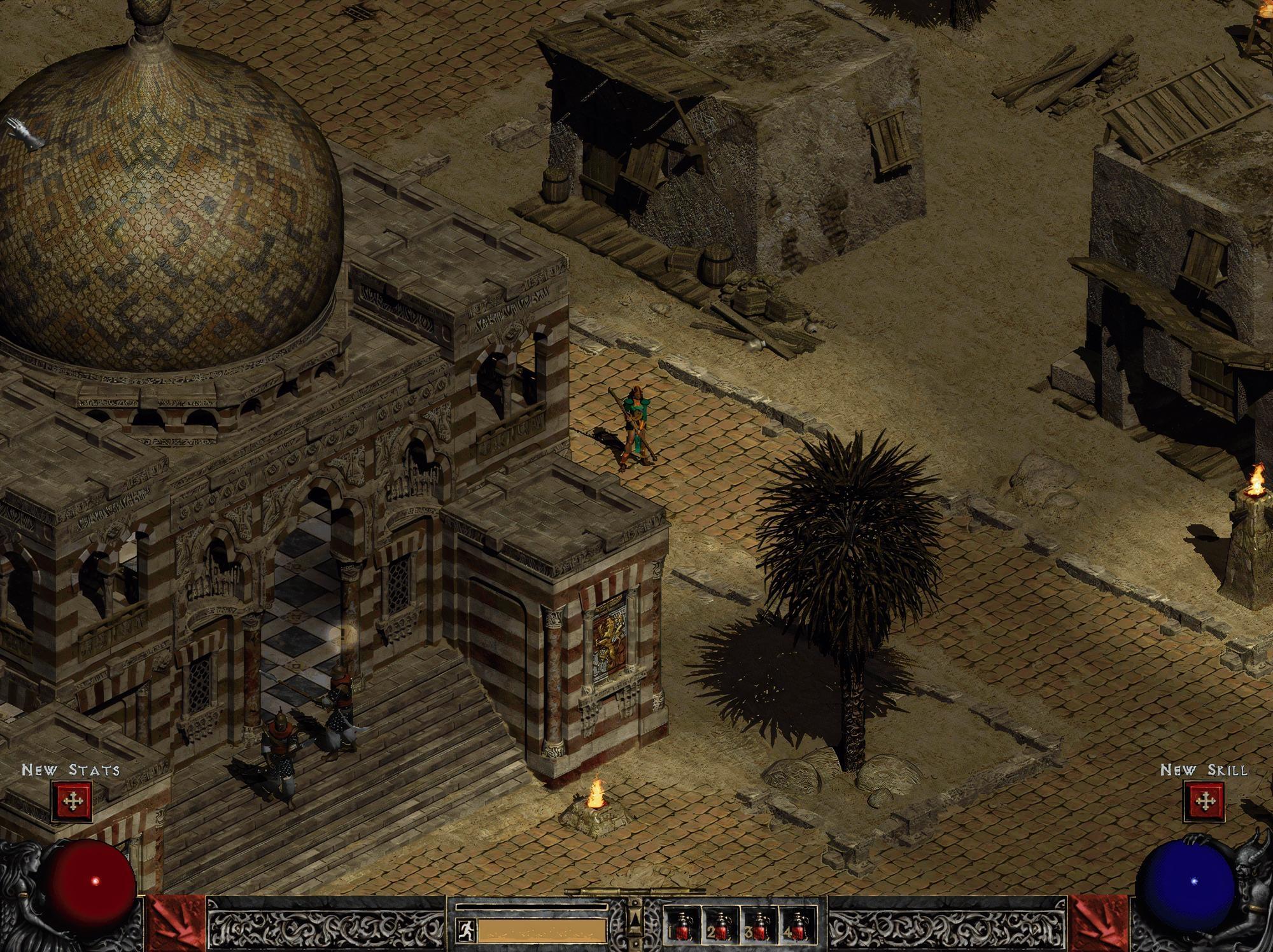 A neural network fan showed what Diablo II Remaster could