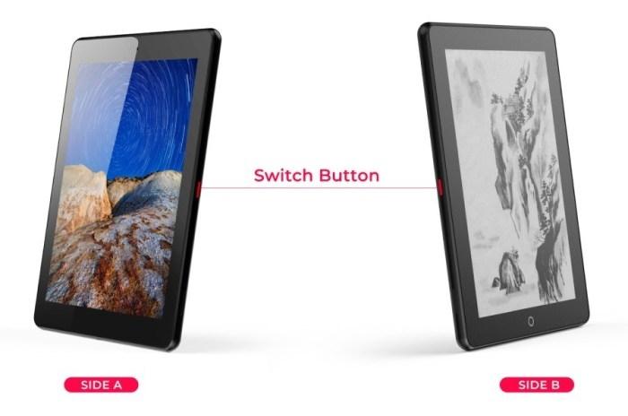 "Планшет Eewrite Janus с двумя экранами (E Ink + LCD) вскоре будет доступен для предзаказа по цене$399"""