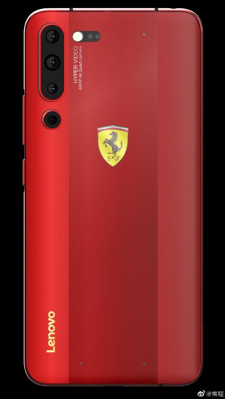 """Lenovo может выпустить смартфон Z6 Pro Ferrari Edition"""""""