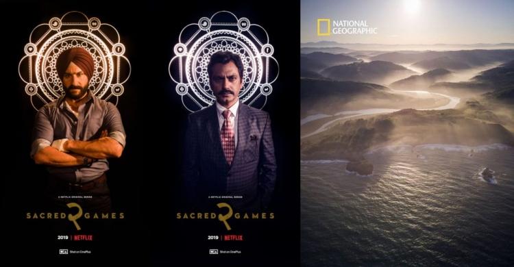 "Снято на OnePlus 7 Pro: плакаты сериала Netflix и обложка журнала National Geographic"""