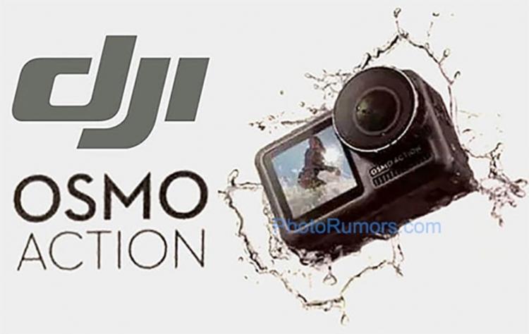 """Изображения и характеристики спортивной камеры DJI Osmo Action в преддверии запуска"""""""