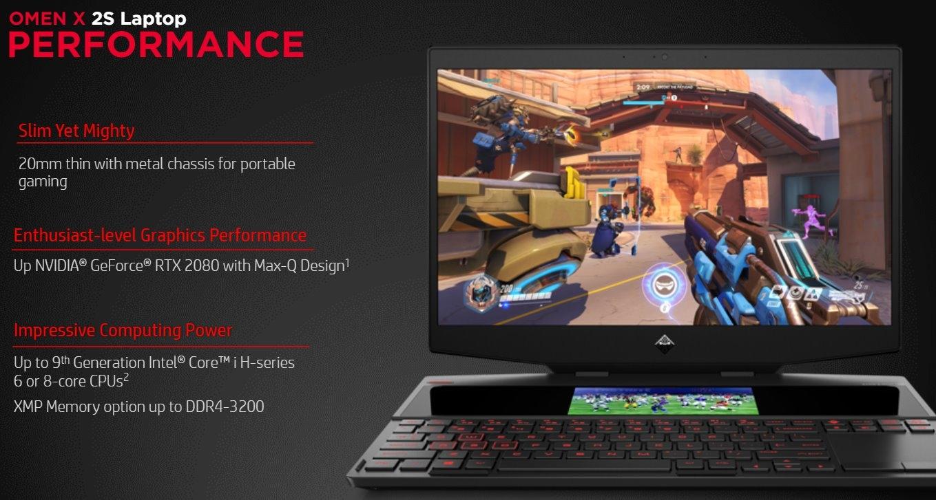 laptop omen x by hp 2s 15