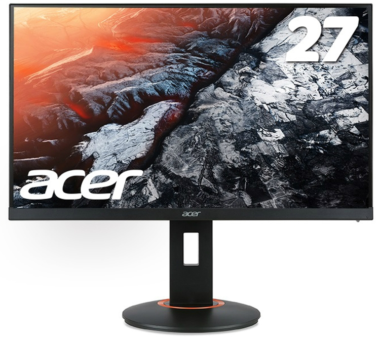 """Новый 27"""" игровой монитор Acer обладает временем отклика менее 1 мс"""""""