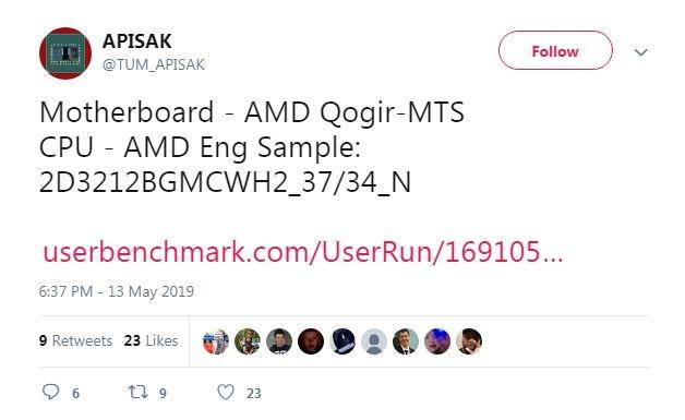 """Процессор AMD Ryzen 3000 (Matisse) с 12 ядрами сможет разгоняться до 5,0 ГГц"""""""