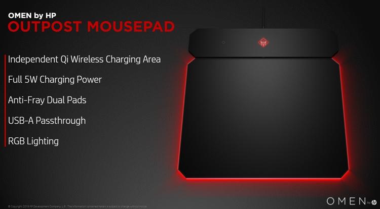 """HP Omen Photon Wireless Mouse: мышь с поддержкой беспроводной подзарядки Qi"""""""