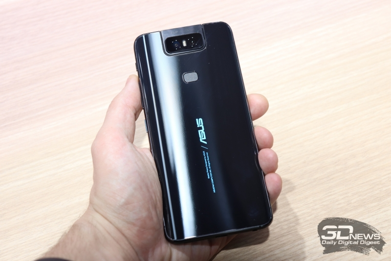 Первые впечатления от ASUS Zenfone 6: смартфон-перевертыш