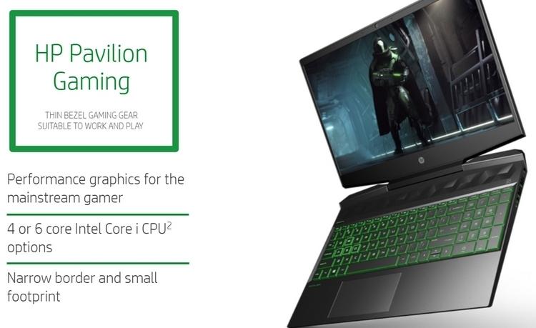 """HP Pavilion Gaming 15 и 17: игровые ноутбуки начального уровня стоимостью от $800"""""""