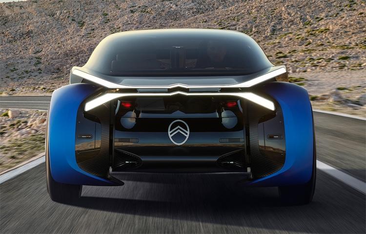 """800 км без подзарядки: электрический концепт-кар для путешествий Citroen 19_19"""""""