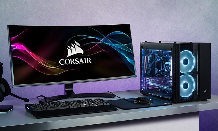 """Corsair Vengeance 5185: игровой ПК с чипом Core i7-9700K и картой GeForce RTX 2080"""""""