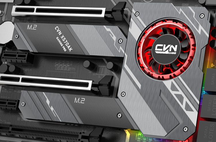 """Colorful CVN X570 Gaming Pro: материнская плата на AMD X570 с активным охлаждением чипсета"""""""