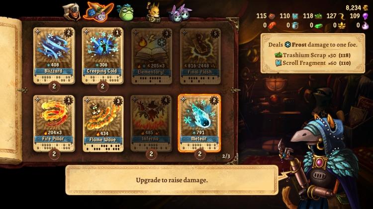 Карточная RPG SteamWorld Quest: Hand of Gilgamech выйдет на ПК в конце месяца