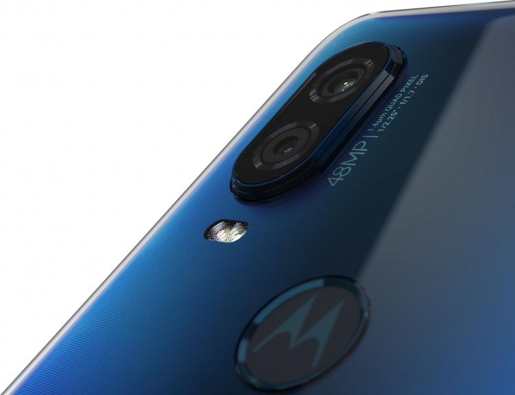 "Смартфон Motorola One Vision: экран 6,3"", 25-Мп фронтальная и 48-Мп основная камеры"""
