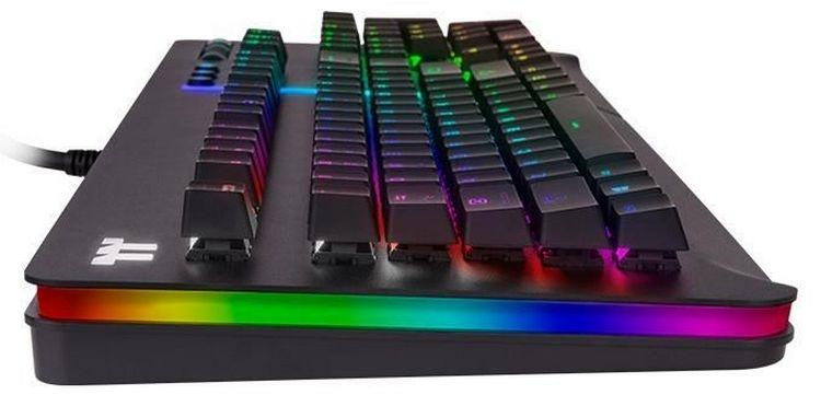 """Thermaltake Level 20 RGB Razer Green: игровая механическая клавиатура с обилием подсветки"""""""