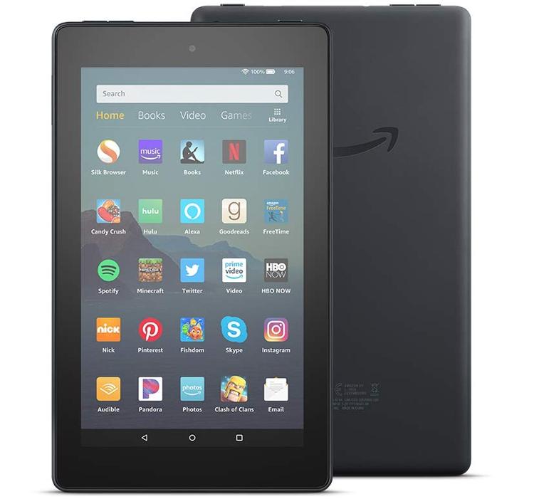 """50-долларовый планшет Amazon Fire 7 стал быстрее и нарастил память"""""""