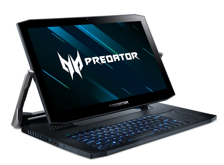 """Игровой ноутбук-трансформер Predator Triton 900 с вращающимся экраном оценён в 370 тыс. рублей"""""""