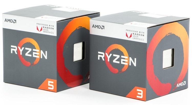 """Выяснились характеристики настольных гибридных процессоров Ryzen 3000 Picasso"""""""