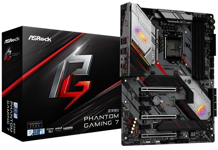 """ASRock представила новые материнские платы в семействе Z390 Phantom Gaming"""""""