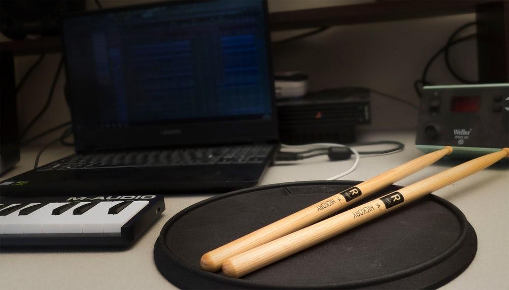 Senspad прекрасно совместим с  звуковыми рабочими станциями и профессиональным аудио-софтом