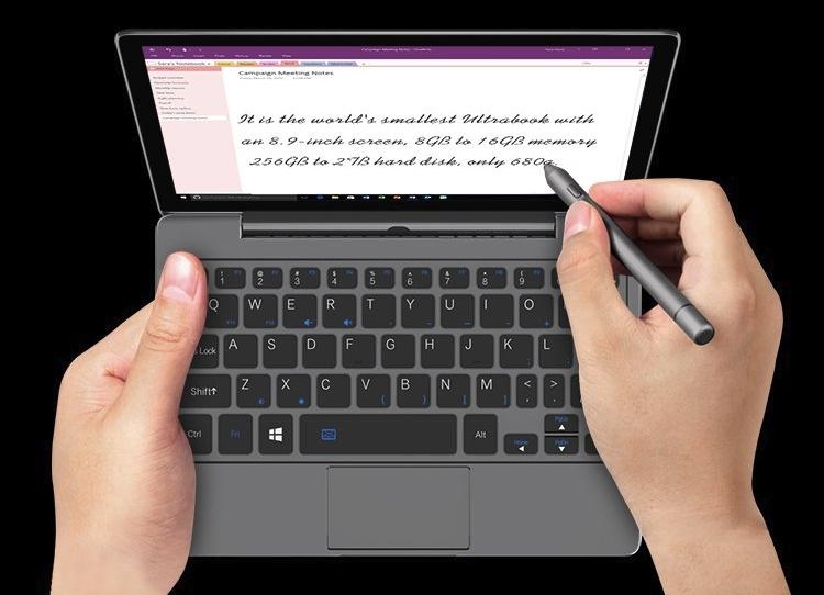 """GPD Pocket 2 Max: мини-ноутбук с 8,9-дюймовым дисплеем по цене от $529"""""""