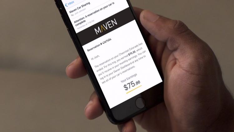 "General Motors почти вдвое сократила сервис каршеринга Maven"""