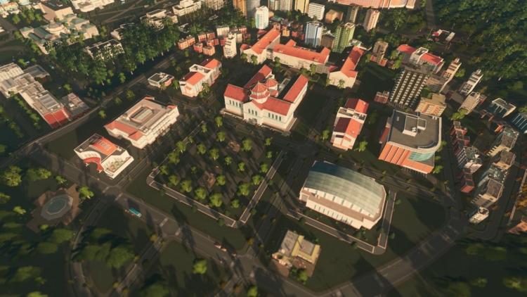"""Видео: вышло «университетское» дополнение Campus к Cities: Skylines"""""""