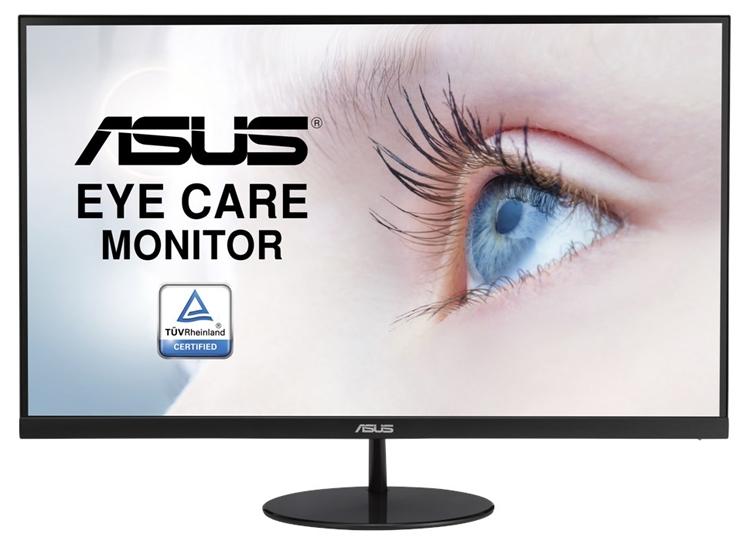 """ASUS VL278H: монитор Eye Care с безрамочным дизайном"""""""