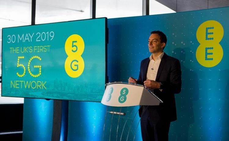 """Первую сеть 5G в Британии развернёт всё же EE — старт 30 мая"""""""