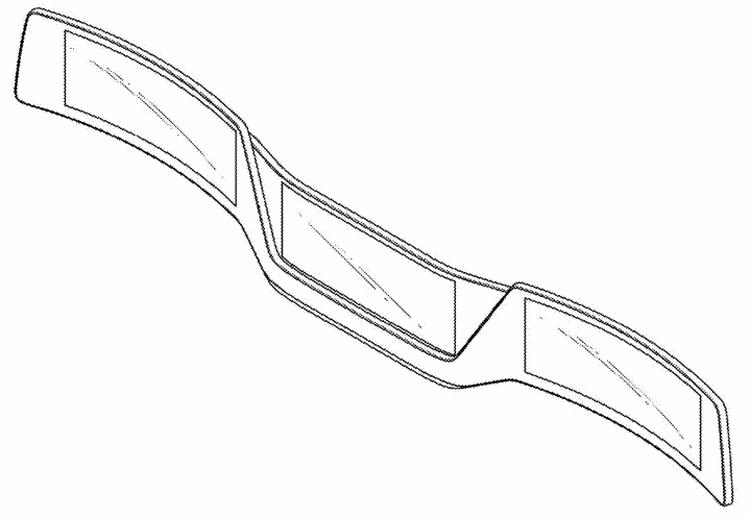 """LG проектирует многосекционный дисплей для автомобилей будущего"""""""