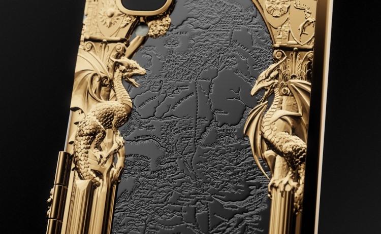 Появился золотой Samsung Galaxy Fold встиле «Игры престолов»
