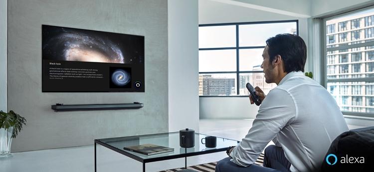 """Новые телевизоры LG ThinQ AI обзаведутся поддержкой ассистента Amazon Alexa"""""""