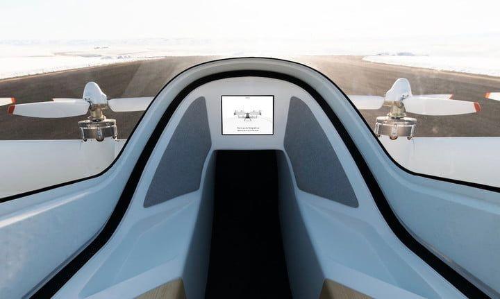 """Airbus поделилась снимком футуристического интерьера своего аэротакси"""""""