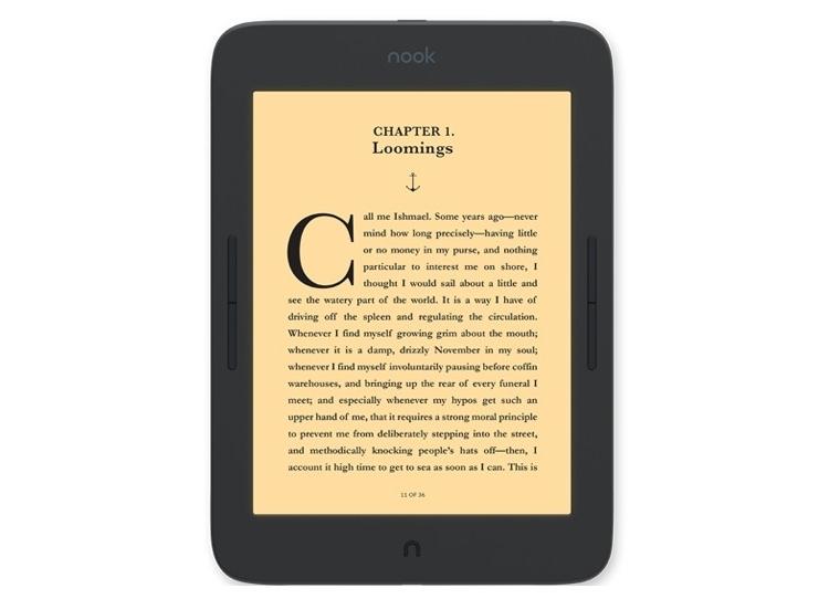 """Barnes & Noble выпустила ридер Nook Glowlight Plus с 7,8-дюймовым экраном"""""""
