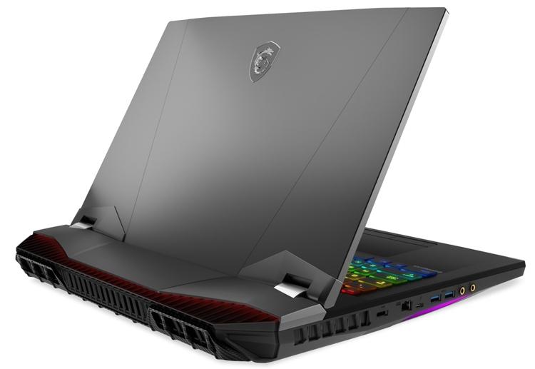 "MSI GT76 Titan: игровой ноутбук с чипом Intel Core i9 и ускорителем GeForce RTX 2080"""