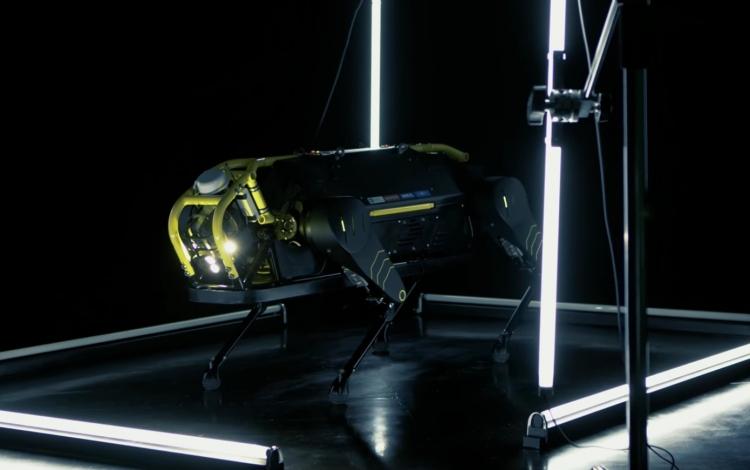 """Видео: четырёхногий робот HyQReal тянет за собой самолёт"""""""