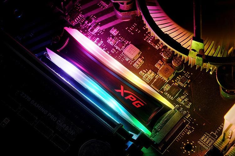 """ADATA XPG Spectrix S40G RGB: накопитель M.2 SSD с оригинальной подсветкой"""""""