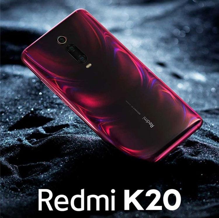 """Пресс-рендер Redmi K20 в огненно-красном и старт предзаказов в Китае"""""""