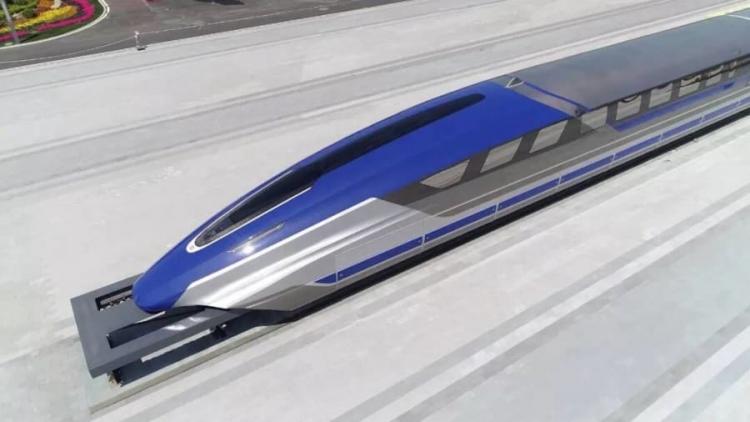 В Китае изготовили прототип маглев-поезда, развивающего скорость 600 км