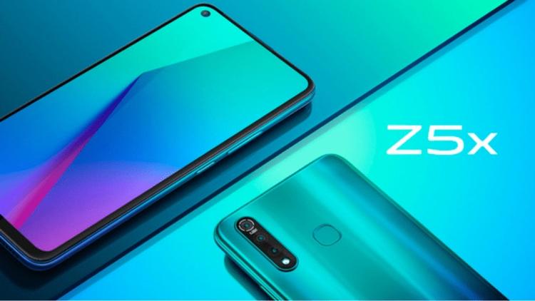 "Отверстие в экране и аккумулятор на 5000 мА·ч: дебют смартфона Vivo Z5x"""