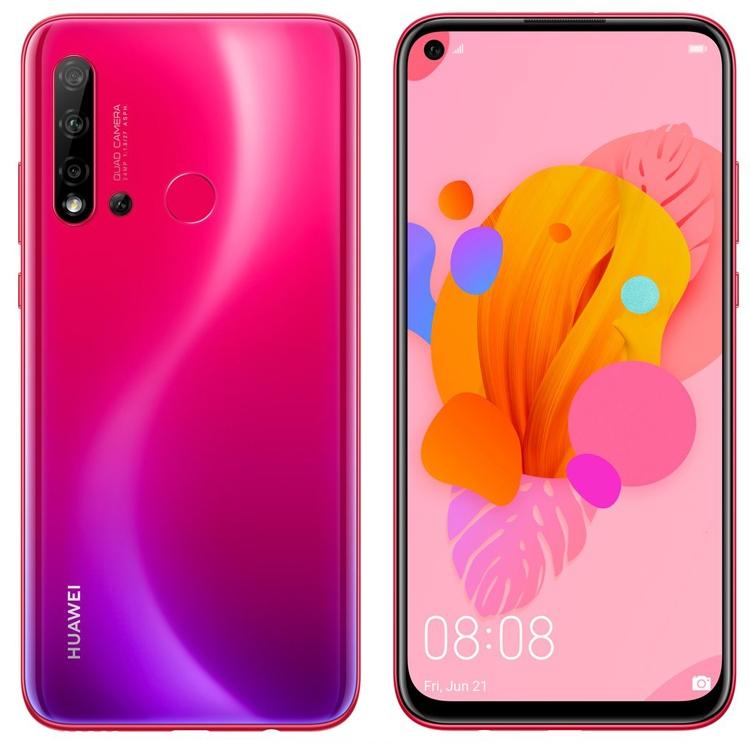 Смартфон Huawei P20 Lite 2019 позирует на рендерах в корпусах