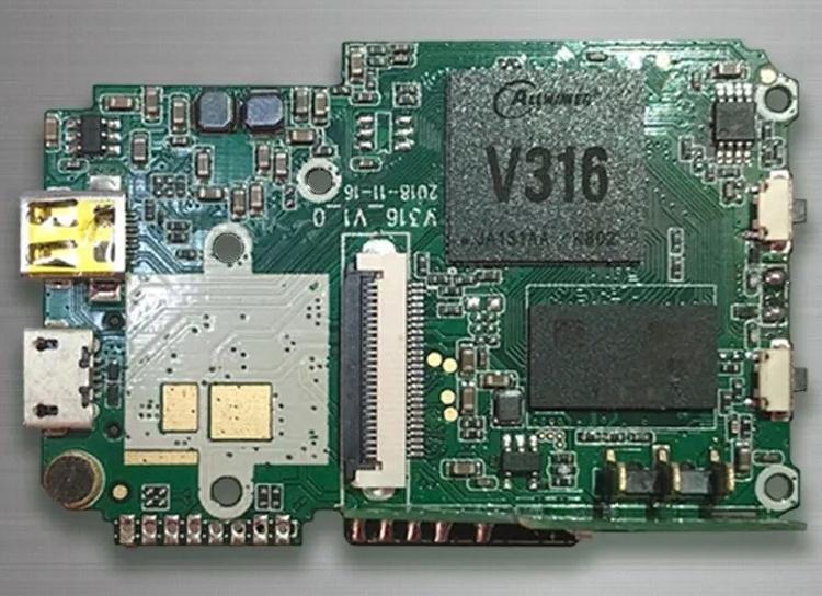 """Процессор Allwinner V316 нацелен на экшен-камеры с поддержкой 4К"""""""