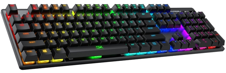"""HyperX Alloy Origins: игровая клавиатура с многоцветной подсветкой"""""""