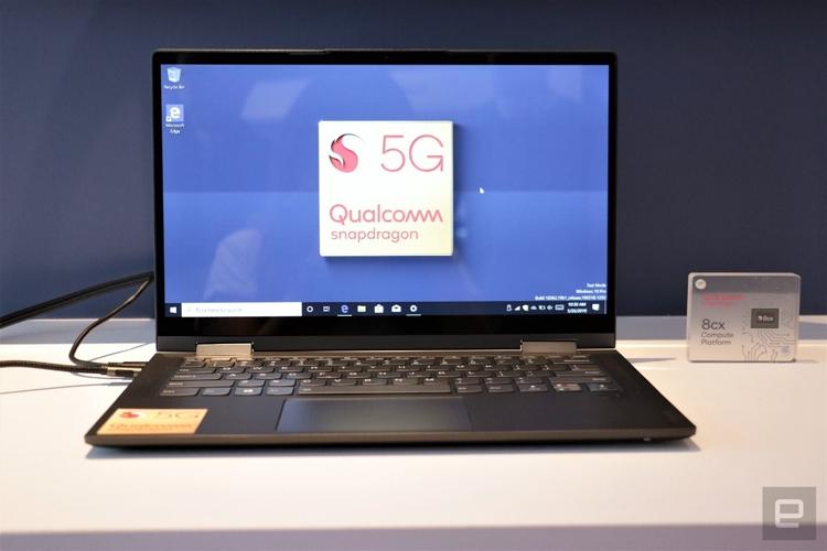 """Computex 2019: Lenovo представила первый в мире 5G-ноутбук на платформе Qualcomm Snapdragon 8cx"""""""
