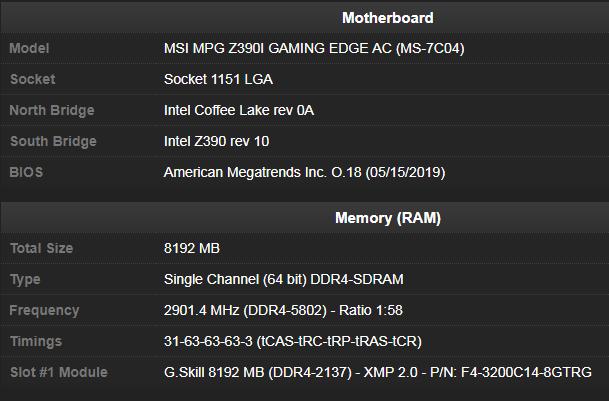 Источник изображения: база данных CPU-Z