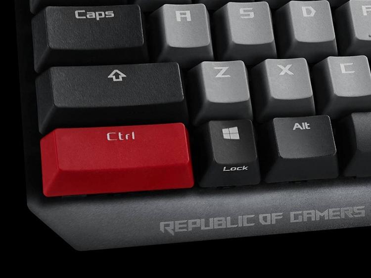 "Computex 2019: клавиатура ASUS ROG Strix Scope PBT с переключателями Cherry MX"""