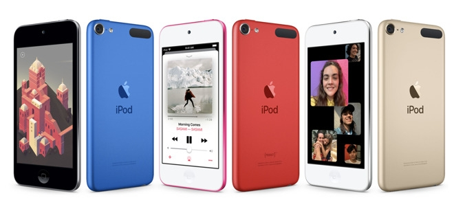 """Представлен новый плеер Apple iPod Touch с чипом A10 Fusion и объёмом памяти до 256 Гбайт"""""""