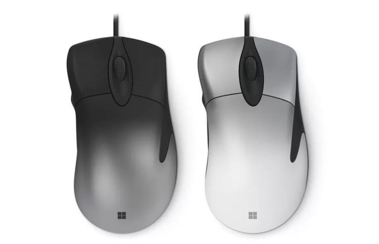 """Microsoft представила новую версию мыши IntelliMouse Pro"""""""